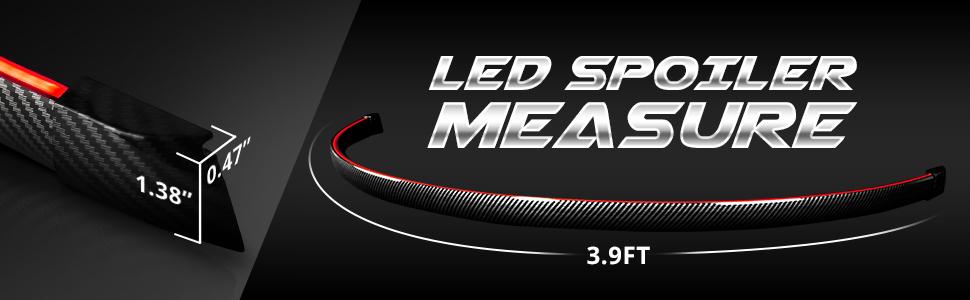OPT7 LED Spoiler Brake light