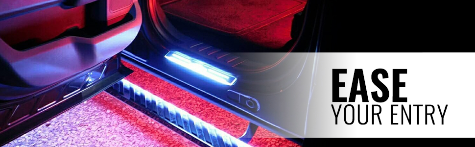 aura underbody light kit features