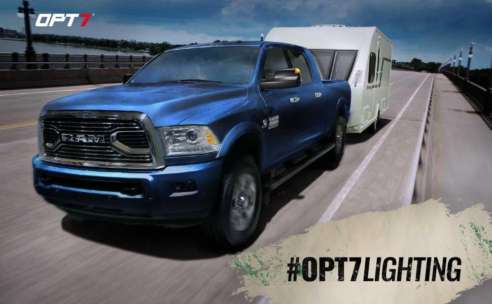 OPT7 Truck Side Mirror Dodge RAM
