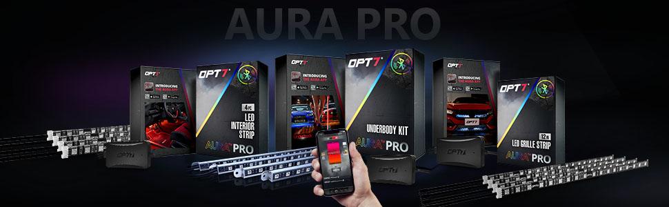 opt7 aura led lighting kits
