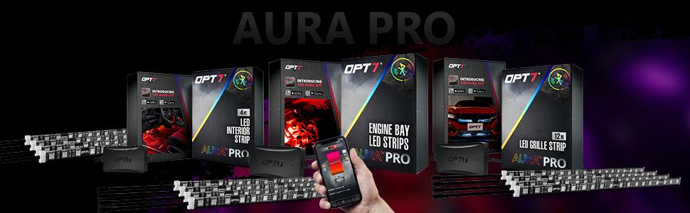opt7 aura interior led lighting kits