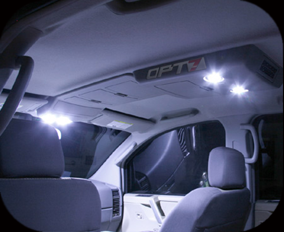 OPT7 12pc Interior LED Light Bulbs Package Kit for 07-13 Chevy ...